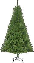 Black Box Charlton groene kunstkerstboom maat in cm: 215 x 127