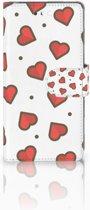 Huawei P10 Boekhoesje Design Hearts