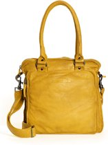 Sticks and Stones - Belize Bag - Buff Washed - Honey Yellow