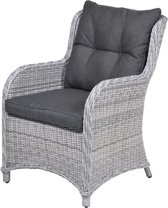 Garden Impressions - Malpensa dining fauteuil - cloudy grey