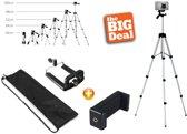 XL Smartphone / iPhone Camerastatief - Universele Driepoot