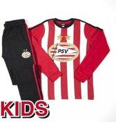 PSV Pyjama - rood - Maat 140