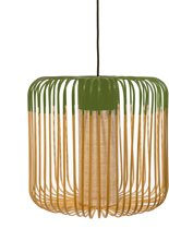Forestier Bamboo Light Hanglamp Medium Groen