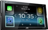 JVC KW-M730BT 2 DIN A/V autoradio met Android Auto en Apple CarPlay