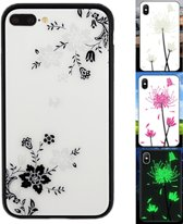 BackCover Magic Glass voor Apple iPhone 8 Plus/7 Plus Bloem1