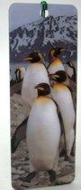 Boekenlegger pinguin