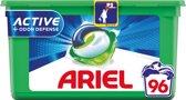 Ariel 3in1 Pods Active Odour Defense - Wasmiddelcapsules - 96 Wasbeurten