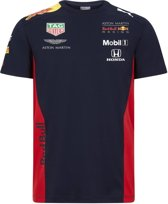 PUMA Red Bull Racing Team Tee Heren Sportshirt - NIGHT SKY - Maat XXL