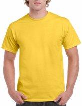 Geel katoenen shirt voor volwassenen L (40/52)