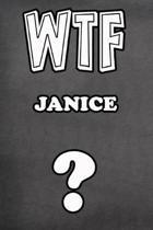 Wtf Janice ?