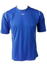 KWD Sportshirt Mundo - Voetbalshirt - Kinderen - Maat 116 - Blauw/Wit