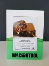 High Protein Reep Pistache-Almond chocolade Crunch (5 x 44g)