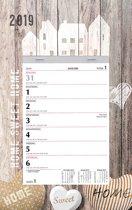 Week scheurkalender MGP 2019 - Scheurkalender - 1 week/1 pagina - Home Sweet Home - 21 x 34 cm