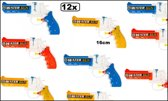 12x Waterpistool Water Gun 16 cm assortie