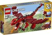 LEGO Creator Rode Dieren - 31032