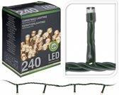 Kerstverlichting Warm Wit - 240 LEDS - 18 Meter - Voor binnen & buiten