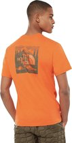 The North Face Red Box Celebration Tee Orange