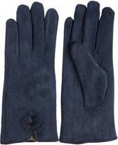Handschoenen blauw 8*24 cm Blauw | MLGL0018BL | Clayre & Eef