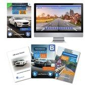 Auto Theorieboek 2019 met Auto theorie samenvatting, verkeersbordenboekje en een uitgebreide oefen Auto Theorie CD