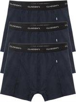 Claesen's Heren Boxershorts Navy Stretch 3-Pack - L