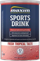 Maxim Hypotonic Sports Drink - Fresh Tropical - 480 gram