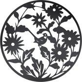 Wanddecoratie bloemen ø 99 cm Bruin | 5Y0492 | Clayre & Eef