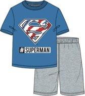 Superman pyjama - korte mouw - maat 140 / 10 jaar