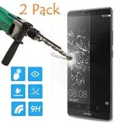 Gratis 1 + 1 Huawei Mate 8 glazen Screen protector Tempered Glass 2.5D 9H (0.3mm)