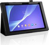 Stand Case voor de Sony Xperia Z2 Tablet, Kleur Zwart, Merk i12cover