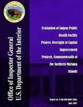Evaluation of Saipan Public Health Facility Project