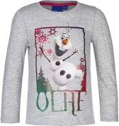 Frozen Olaf grijs longsleeve 128