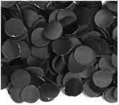 Luxe confetti 2 kilo zwart