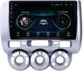 Navigatie radio Honda Jazz 2002-2008, Android 8.1, Apple Carplay, 9 inch scherm, GPS, Wifi