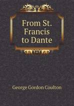 From St. Francis to Dante