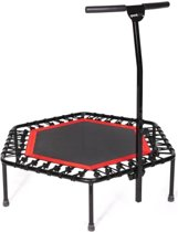 SP-T-110 Sport Plus Fitness Trampoline Bungee Touw systeem, Ø 110 cm -gebruiker gewicht tot 130 kg / TUV Veiligheid Getest