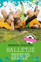 Boek cover Balletje diep van Barbara Scholten (Onbekend)