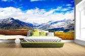 Fotobehang vinyl - Himalaya in India breedte 380 cm x hoogte 265 cm - Foto print op behang (in 7 formaten beschikbaar)