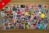100x Skateboard stickers | Decals | Skateboard pimpen Set | Skating | Set 1