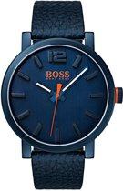 Hugo Boss Orange HO1550039 horloge heren - blauw - edelstaal PVD blauw