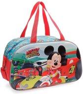 Disney Reistas Mickey Mouse 24 Liter Junior Blauw/rood