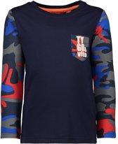 TYGO & vito Jongens T-shirt - donker blauw - Maat 122/128