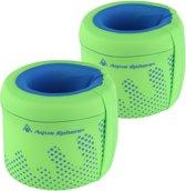 Aqua Sphere Arm Floats - Zwembandjes - 3-6 jaar (18-30kg) - Groen/Lichtblauw