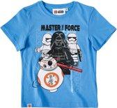 LEGO-Star-Wars-T-shirt-met-korte-mouw-blauw-maat-116