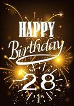 Happy Birthday 28