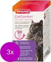 Beaphar Catcomfort Navulling Verdamper - Anti stressmiddel - 3 x 48 ml Navulling