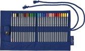 Roletui met 27 Goldfaber Aqua kleurpotloden, 1 puntenslijper en 1 penseel