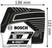 Bosch Professional GCL 2-50 CG Lijnlaser - Met RM2 + BM3 houder + etui + richtplaat + 12V accu + lader
