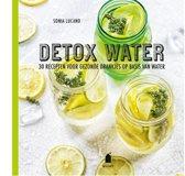 Omslag van 'Detox water'