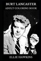 Burt Lancaster Adult Coloring Book
