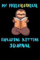 My Philoslothical Exploding Kittens Journal